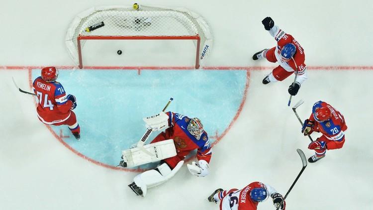 روسيا تخسر أمام التشيك في مونديال الهوكي 2016
