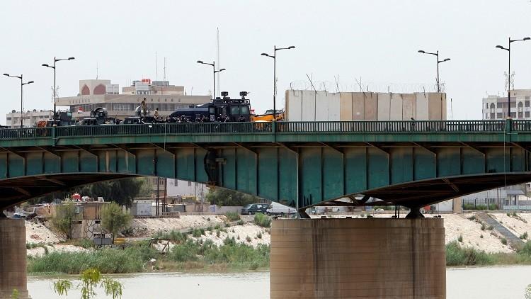 القوات العراقية تعزل المنطقة الخضراء في بغداد