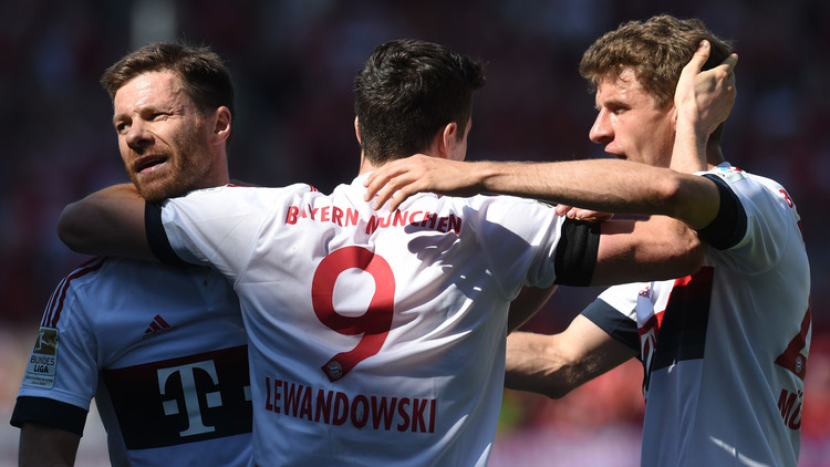 بايرن ميونيخ بطلا للبوندسليغا للمرة الرابعة على التوالي