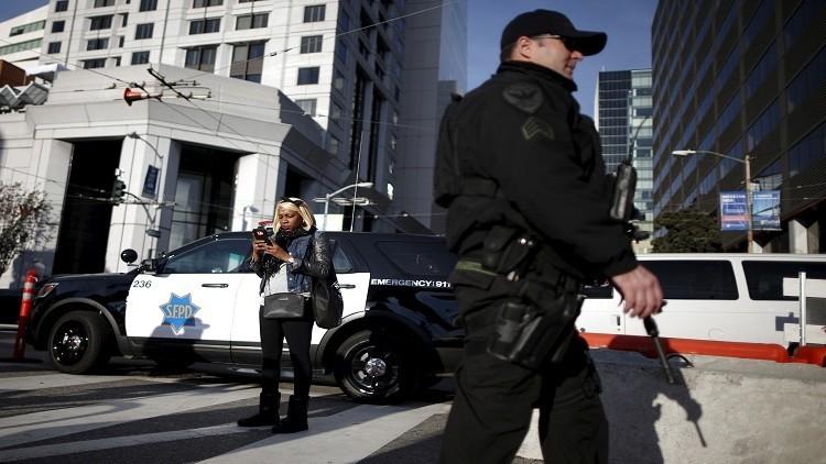 اعتقال 33 شخصا طالبوا بإقالة مدير شرطة سان فرانسيسكو