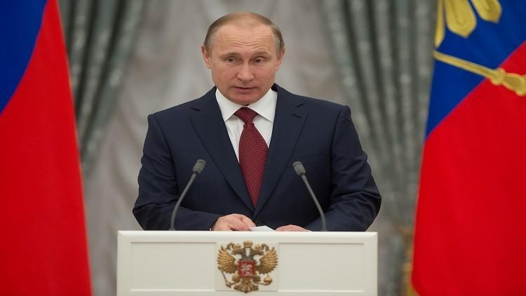 بوتين: من غير الجائز إعادة النظر في التاريخ