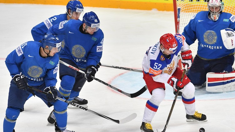 روسيا تفوز على كازاخستان في مونديال الهوكي 2016