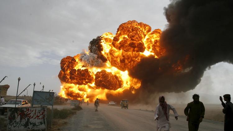 مقتل 73 شخصا جراء اصطدام حافلتين بناقلة وقود في أفغانستان