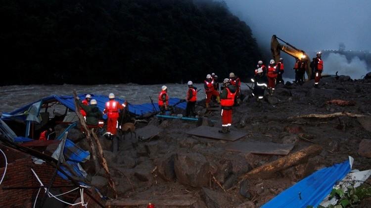 فقدان 41 شخصا إثر انهيار أرضي جنوب شرق الصين