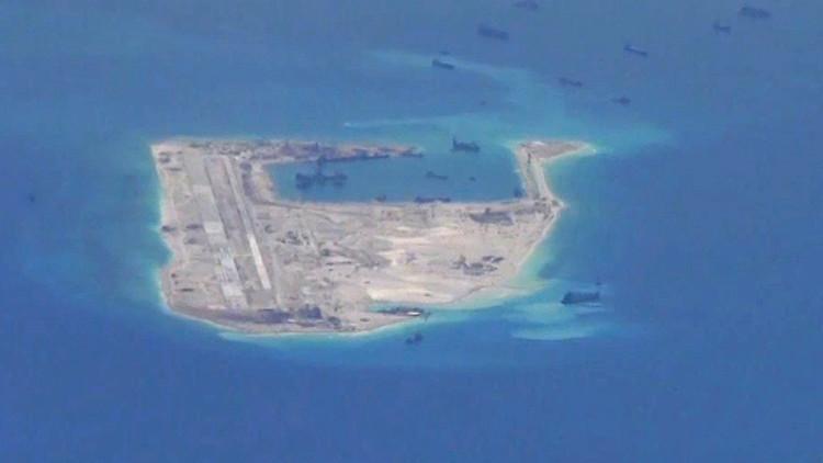 سفينة أمريكية متطفلة تغضب بكين