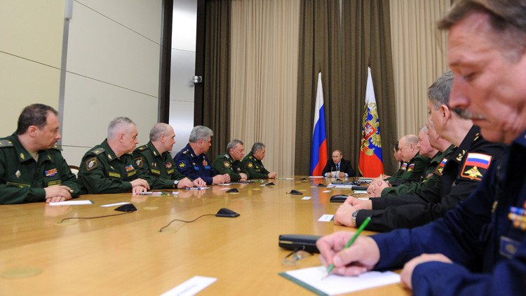 بوتين: عمليتنا في سوريا أظهرت قوة أسلحتنا