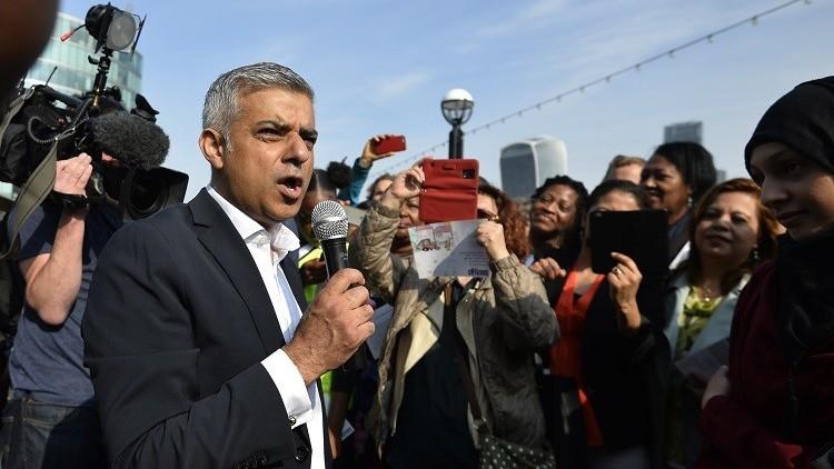 عمدة لندن يرفض استثناء ترامب له