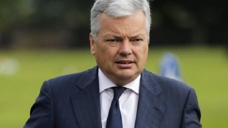 وزير الخارجية البلجيكي يزور قطاع غزة