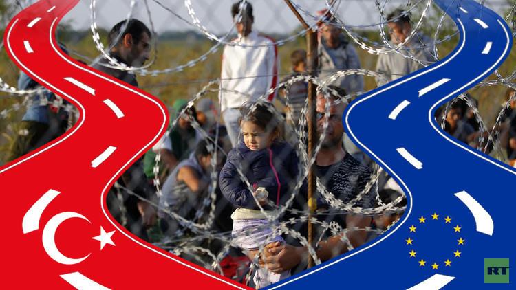 أنقرة وبروكسل ومخاض اللاجئين العسير