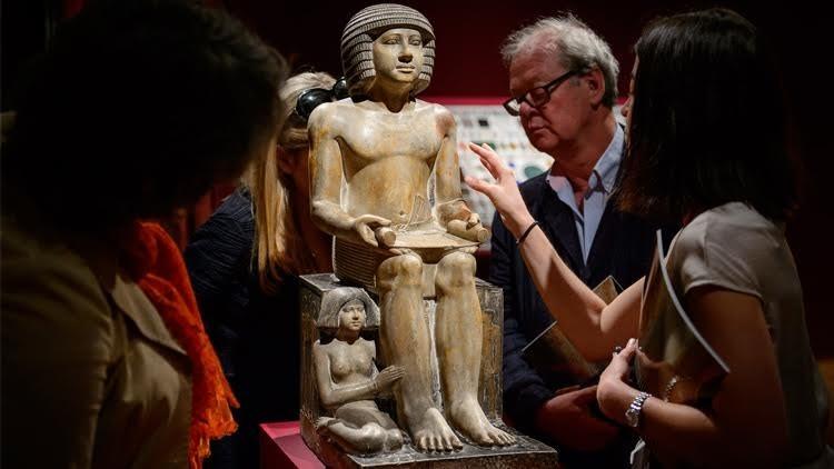 تمثال سيخمكا يباع ويختفي من لندن في ظروف غامضة