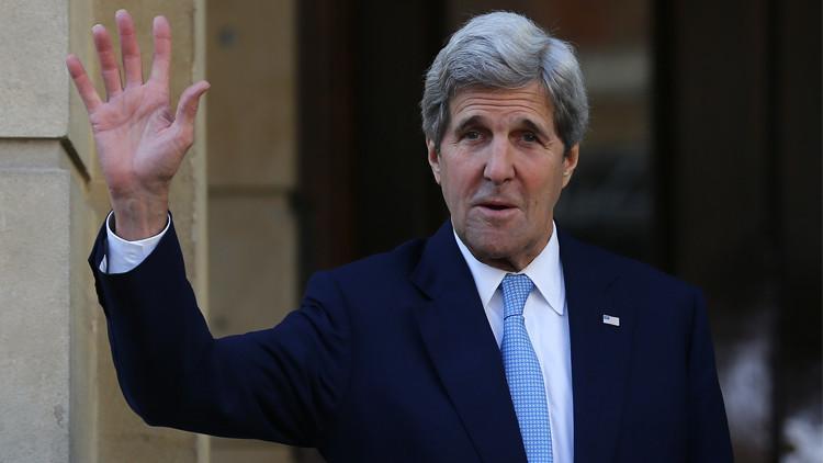 كيري يطمئن البنوك الأوروبية حول نشاطها مع إيران