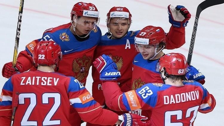 روسيا تسحق الدنمارك في مونديال الهوكي 2016