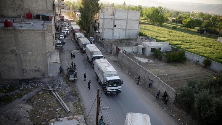 الأمم المتحدة تتهم دمشق بعرقلة إيصال المساعدات لداريا