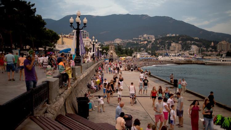 شبه جزيرة القرم تستقبل طلائع السياح الصينيين