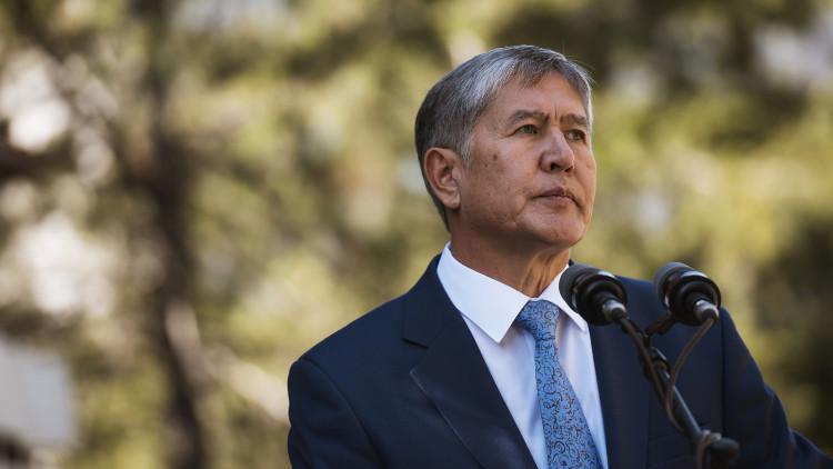 رئيس قرغيزستان : جهات خارجية تقف وراء المعارضة
