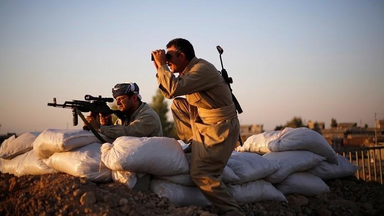 داعش يقصف البيشمركة بالكيماوي