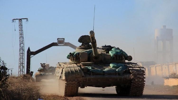 الجيش السوري يصد هجوم داعش على مشفى الأسد