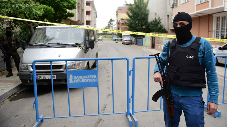إصابة 4 أشخاص بتفجير عبوة في اسطنبول