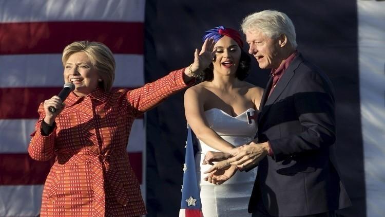 هيلاري كلينتون تمنح زوجها وظيفة في حال فوزها