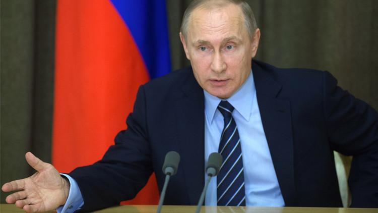 بوتين يطالب بتنفيذ