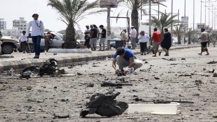 انتحاري يستهدف قوات النخبة بالمكلا في اليمن