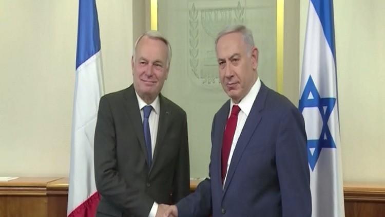 نتنياهو يجدد رفض مبادرة السلام الفرنسية
