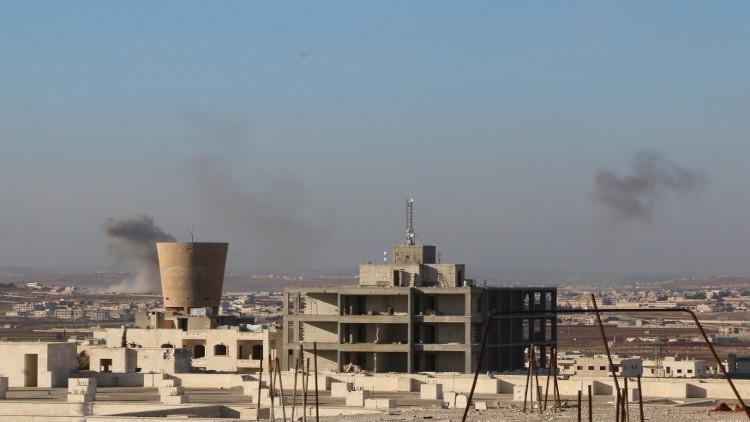 تركيا والتحالف يقصفان حلب