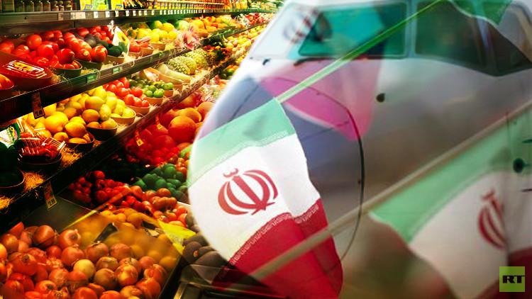 تصدير المحاصيل الزراعية الإيرانية إلى روسيا جوا