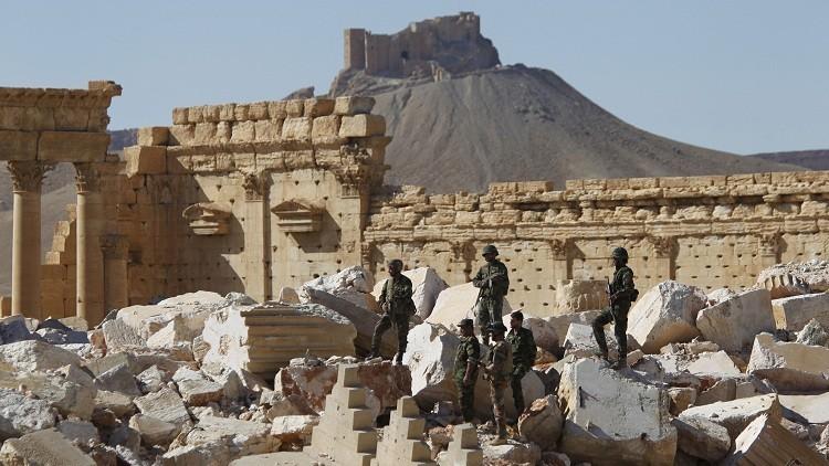 الدفاع الروسية تنفي بناء قاعدة عسكرية في تدمر