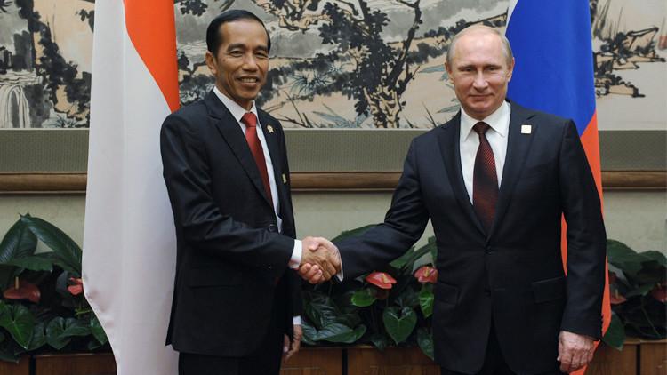 إندونيسيا توطد علاقاتها الاقتصادية بروسيا