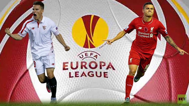 حلم إشبيلية التاريخي يصطدم بأمل ليفربول الأوروبي