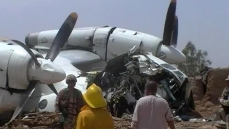 مصرع 9 أشخاص بتحطم طائرة أذربيجانية بأفغانستان