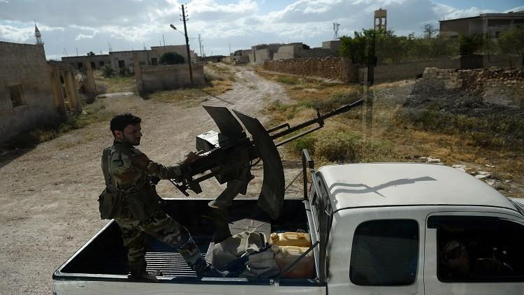 الجيش السوري يسيطر على بلدتين في غوطة دمشق الشرقية