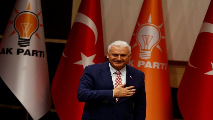 تركيا.. بن علي يلدريم لخلافة داود أوغلو