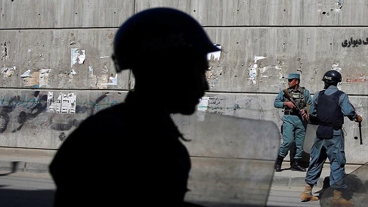 مقتل 8 ضباط على يد شرطي في أفغانستان