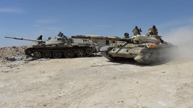 الجيش السوري يسيطر على مساحة 40 كيلومترا في الغوطة الشرقية