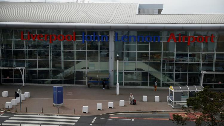 إخلاء مطار جون لينون في بريطانيا لأسباب أمنية