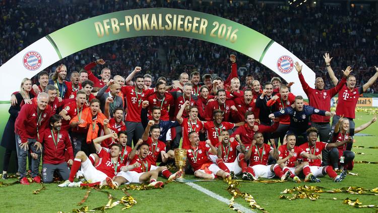 بايرن ميونيخ يحرز كأس ألمانيا .. (فيديو)