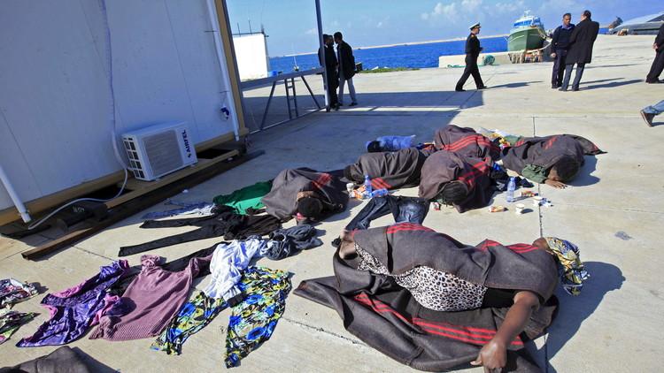 خفر سواحل ليبيا يعترض 850 مهاجرا