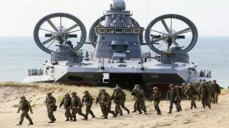 بالفيديو.. سفينة الإنزال الروسية موردوفيا.. جبروت الوسادة