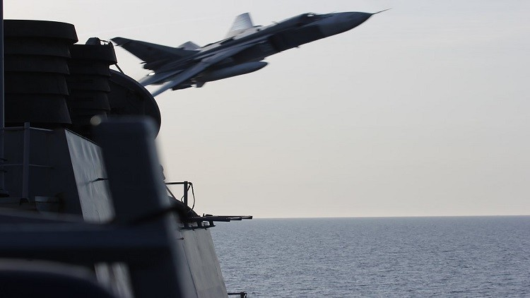 واشنطن قلقة من نشاط القوات الجوية الروسية