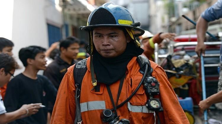 مصرع 17 تلميذة في حريق بشمال تايلاند