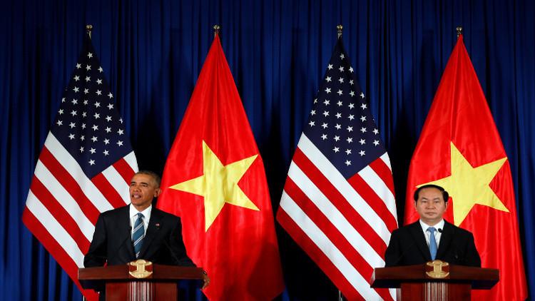 أوباما يرفع الحظر عن تصدير السلاح إلى فيتنام