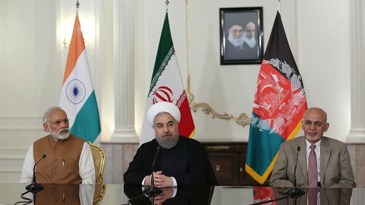 ممر تجاري يربط بين إيران والهند وأفغانستان