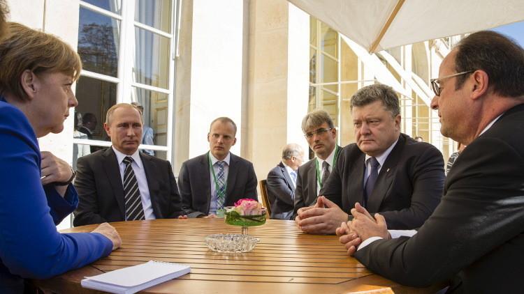 بوتين يطالب بوقف القصف الأوكراني في دونباس