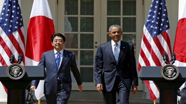 آبي يلتقي مع أوباما وكاميرون قبل قمة G7
