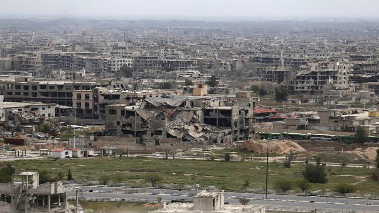 هدوء في ريف دمشق بعد دعوة روسية إلى التهدئة