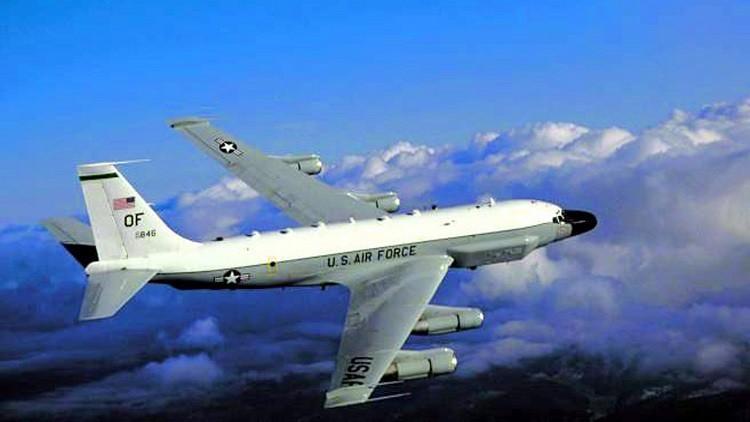طائرة تجسس أمريكية تقترب من حدود روسيا