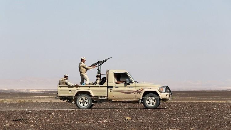 القوات المصرية تقتل 85 مسلحا شمال سيناء