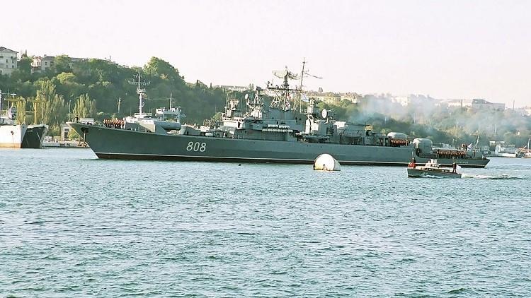السفينة الحربية الروسية